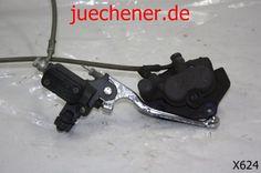 Peugeot Elystar 125 Bremsanlage vorne Bremspumpe Bremszage Bremsleitung