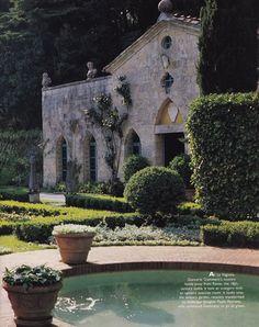 La Vagnola, Giancarlo Giammetti's villa in Tuscany...