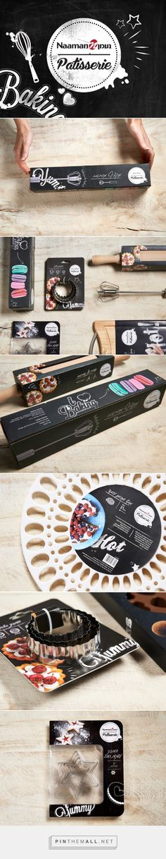 Naaman Patisserie by Shake Design curated by Packaging PD. A brand that encourages and inspire people to enter the field of baking and developed a packaging design that is fun and stimulating to make people go into the kitchen and start baking.