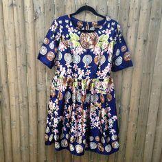 Spotted while shopping on Poshmark: Unique Medallion Print Dress! #poshmark #fashion #shopping #style #Oubaili #Dresses & Skirts