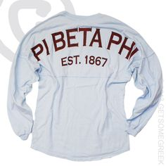 PI BETA PHI CUSTOM GROUP ORDER ON PI PHI COASTAL JERSEYS!! EST. 1867 PI PHI