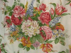 Ralph Lauren Vintage Melissa Floral King Comforter
