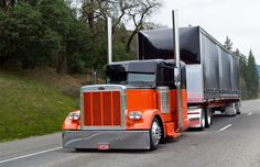Cool Semi-Trucks   Now... if they could lower the trailers to match...