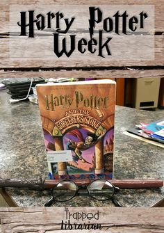The Trapped Librarian shares how you can collaborate with other specialists and teachers to plan a Harry Potter themed week for your elementary school! Middle School Libraries, Elementary School Library, Elementary Schools, School Library Themes, Library Skills, Library Lessons, Library Ideas, Library Work, Reading Lessons