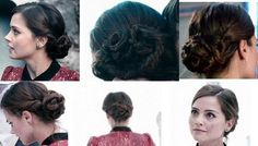 Clara Oswald hair for Journey to the Centre of the Tardis.