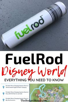 FuelRod Disney World: Pros and cons, how to use a FuelRod at Disney, Fuel rod locations in the theme parks, cost, and promo codes for free swaps! Walt Disney World Vacations, Disneyland Trip, Disney Cruise, Disneyland Secrets, Family Vacations, Cruise Vacation, Vacation Ideas, Family Travel, Disney World Tips And Tricks
