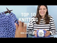 Join Knitting or Crochet Yarn with an Invisible Knot :: by Babs at MyFieryPhoenix - YouTube