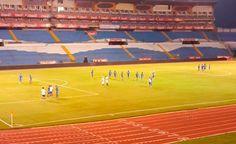 Honduras: Salvadoreños reconocieron el estadio Olímpico Metropolitano