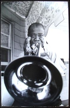 You blows who you is. ~ Louis Armstrong / Photo by Ken Regan