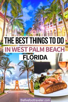 The Best Things to do in West Palm Beach Florida. This is the ultimate guide to the palm beaches in Florida: specifically West Palm Beach and Delray Beach.  What to do, where to eat, where to stay in the Palm beaches and the most fun things to do!   What to do in West Palm Beach   The ultimate guide to the Palm Beaches   West Palm Beach Guide   West Palm Beach Florida   #florida