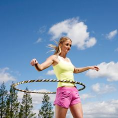 It's never too late to join the hula-hoop party! Burning 250 calories in just 30 minutes never goes out of style.