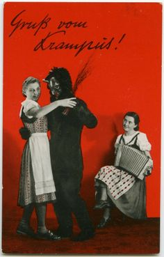 vintage german krampus
