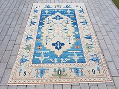 Antiques Open-Minded 1.5x2 Antique Turkish Oushak Rug Mat To Suit The PeopleS Convenience