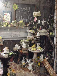 Round Barn Potting Company Easter Fur babies