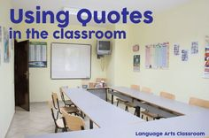 5 Reasons To Use Quotes As Classroom Decor. Reach students with these inexpensive ways to decorate your classroom.