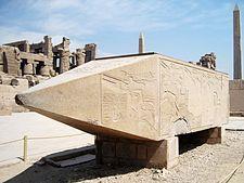 Hatshepsut - A Fallen obelisk of Hatshepsut - Karnak.