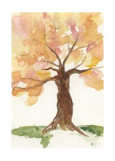 Pretty pretty, watercolor art! Showing to my art teacher, for sure!