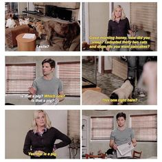 Leslie Knope and Ben Wyatt | Parks and Rec