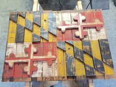 He Salutes America By Ripping Apart Some Old Pallets. The Results ...
