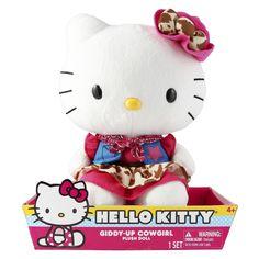 Hello Kitty� Cowgirl Large Plush