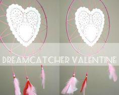 Tutorial | #Valentine Doily Dream Catcher by Cintia at My Poppet