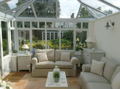 View of Summerhouse from Conservatory