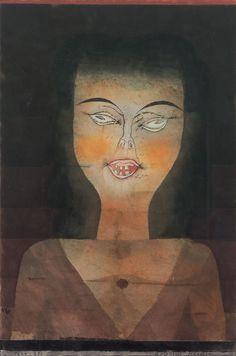 Possessed girl via Paul Klee Size: 29.2x44.2 cm