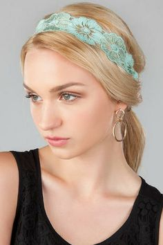 Greenville Lace Head Wrap