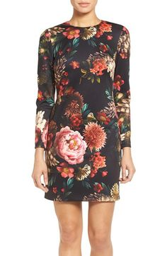 Free shipping and returns on Maia Floral Print Scuba Knit Sheath Dress (Online Only) at Nordstrom.com. Make like you're the subject of a lavish oil painting in this flowering, color-rich shift dress.