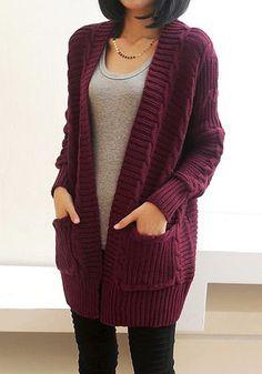 Chunky Knit Port Cardigan | Lookbook Store #Cardigans, #Sweaters  #China #Crochet #Sweater #Knitwear #Knitting #Style #Fashion #Clothing #CrochetFactory #KnitwearManufacturer #SweaterFactory #KnittingFactory #ClothingFactory #KnitwearFactory #SweaterManufacturer #CrochetManufacturer #ClothingManufacturer #KnittingManufacturer #WomenSweater #Cardigan #Pullover #CrochetLace #CrochetClothing #CrochetFashion #WomensTop #Blouse #Dress #CrochetBikiniFactory at Zearz Limited  htt
