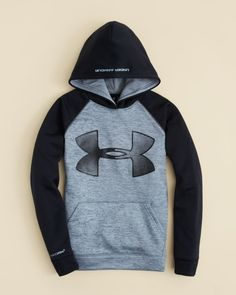 Under Armour Boys' Big Logo Storm Fleece Hoodie - Sizes S-xl