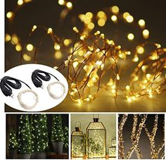 Led String 10m 100leds Fairy String Light Led Christmas Party Decoration Curtain Lamp Waterproof For New Year Home Festival Holiday Indoor Drip-Dry