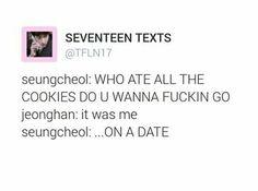 Weak in the knees for Jeonghan