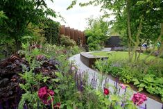 GOLD MEDAL: The Chelsea Barracks Garden, which has been awarded a gold medal at the 2016 RHS Chelsea Flower Show. Photo: Jonathan Brady/PA