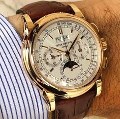 patek philippe watches for women Dream Watches, Men's Watches, Sport Watches, Cool Watches, Fashion Watches, Stylish Watches, Luxury Watches For Men, Patek Philippe, Moonphase Watch