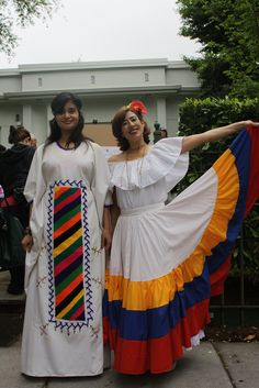 Traditional dress of Wayuu and Llanera - Venezuela
