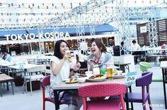 japankuruA trendy beer garden party in Shinjuku ※ BEER GARDEN <TOKYO · KOSORA> @ Lumine Shinjuku  Lumine 1 Top Roof  #lumine #beergarden #beer #shinjuku #bbq #japankuru #japan #cooljapan #tokyo #100tokyo #summer #kosora