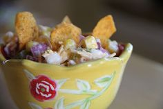 My Mama's Corn Salad is the perfect side for your July 4th Menu