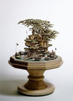 Bonsai Tree House - for you Mick x