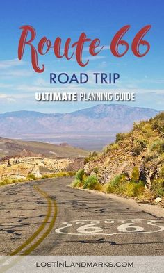 Ultimate Route 66 planner - all your road trip questions answered! - Lost In Landmarks ultimate Route 66 planning guide with all your questions answered! From itinerary planning to booking hotel and renting a car you'll find all the information here Route 66 Road Trip, Travel Route, Us Road Trip, Road Trip Hacks, Usa Travel Guide, Travel Usa, Travel Tips, Canada Travel, Hawaii Travel