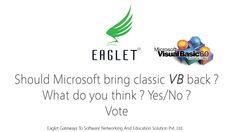 #Classic #VB #BringBackVB #VisualBasic #VB6
