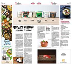 Yogurt Culture: A Savory Tradition|Epoch Taste #Food #newspaper #editorialdesign