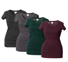 Boob-imetys-t-paita, 35 €. Äitiys- ja imetyspaita pehmeää ja joustavaa materiaalia rypytyksillä. Neljä väriä. Norm. 49,95 €. BEBES – ÄITIYDEN ERIKOISLIIKE, 3. KRS
