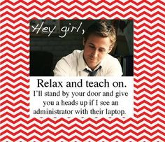 Free Valentines Poster for Teacher's Lounge - evaluation stress!