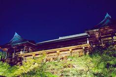 Stage of Kiyomizu temple.