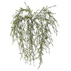 Artificial hanging berry bush Artificial Floral Arrangements, Artificial Plants, Green Plants, Houseplants, Decoration, Dandelion, Berries, Herbs, Flowers