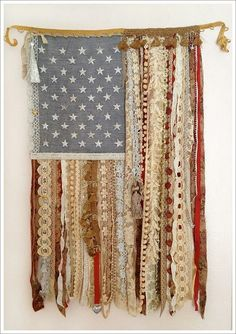 vintage flag kit from A GILDED LIFE!