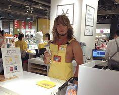 渋谷に『裸エプロン』の店員が現る 1枚目の画像です