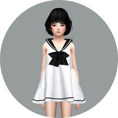 Child Sailor Dress at Marigold via Sims 4 Updates