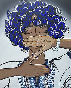 """Pearls and Dashiki by Alisha Lewis """"In tribute to a Finer Womanhood, found by Five Pearls"""